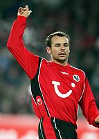 Fotball<br /> Bundesliga Tyskland 2004/2005<br /> Foto: Witters/Digitalsport<br /> NORWAY ONLY<br /> <br /> Roman WALLNER<br /> Fussballspieler Hannover 96