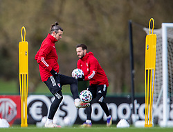 CARDIFF, WALES - Monday, March 29, 2021: Wales' captain Gareth Bale during a training session at the Vale Resort ahead of the FIFA World Cup Qatar 2022 Qualifying Group E game against the Czech Republic. (Pic by David Rawcliffe/Propaganda)