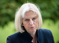 © London News Pictures. 12/11/12. FILE PICTURE. Home Secretary Theresa May. Terror suspect Abu Qatada today won his appeal against deportation to Jordan to face trial, in a huge setback for the Government which has now been trying to get him out of the UK for a decade.  Photo credit : Ben Cawthra/LNP
