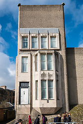 Exterior view of Mackintosh House museum part of The Hunterian Museums at Glasgow University in Scotland, United Kingdom