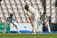 Ben Foakes of Surrey batting during the Specsavers County Champ Div 1 match between Hampshire County Cricket Club and Surrey County Cricket Club at the Ageas Bowl, Southampton, United Kingdom on 6 September 2017. Photo by Graham Hunt.