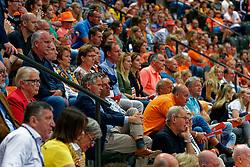 14-09-2019 NED: EC Volleyball 2019 Netherlands - Ukraine, Rotterdam<br /> First round group D - Netherlands win 3-0 / Fans, support Orange
