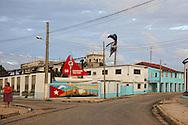 Street on the way into town in Gibara,Holguin,Cuba.