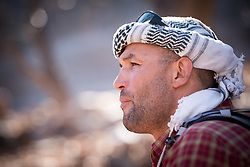 5 January 2018, Azzaden Valley, Morocco. Originally from the village of Armed, at an altitude of some 1,900 meters, near Mount Toubkal, Ibrahim is a 39-year-old mountain guide. He's been working as a guide for international guests for more than 16 years. He speaks Berber, two Arabics, English, French