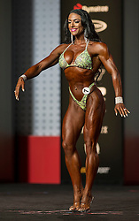Sept.16, 2016 - Las Vegas, Nevada, U.S. -  MARIA LUISA BAEZA-DIAZ competes in the Figure Olympia contest during Joe Weider's Olympia Fitness and Performance Weekend.(Credit Image: © Brian Cahn via ZUMA Wire)