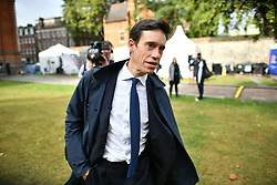 © Licensed to London News Pictures. 04/09/2019. London, UK. RORY STEWART MP is seen in Westminster, London. British Prime Minister Boris Johnson has a called for a general election after losing his first commons vote and losing his majority, removing his control of parliament. Photo credit: Ben Cawthra/LNP