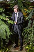 Herrn Öttinger im Interview mit Christoph Schwennicke  und Georg Löwisch fur Cicero. Gunther Oettinger European Commissioner for Energy.
