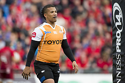 September 9, 2017 - Limerick, Ireland - Clayton Blommetjies of Cheetahs during the Guinness PRO14 rugby match between Munster Rugby and Cheetahs Rugby at Thomond Park in Limerick, Ireland on September 9, 2017  (Credit Image: © Andrew Surma/NurPhoto via ZUMA Press)