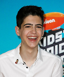 March 23, 2019 - Los Angeles, CA, USA - LOS ANGELES, CA - MARCH 23: Joshua Rush attends Nickelodeon's 2019 Kids' Choice Awards at Galen Center on March 23, 2019 in Los Angeles, California. Photo: CraSH for imageSPACE (Credit Image: © Imagespace via ZUMA Wire)