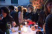 ELISE OVERLAND,  Hauser and Wirth cocktail reception. Palazzo Balbi-Valier, Dorsoduro 866, Venice, Venice Biennale, Venice. 5 May 2015