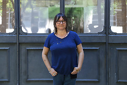 July 4, 2017 - Roma, RM, Italy - Scottish writer Ali Smith. Photocall with two of the candidates for the fourth edition of the European Premio Strega, Jenny Erpenbeck and Ali Smith, who will be attending the evening of July 5 of Literature International Festival of Rome. (Credit Image: © Matteo Nardone/Pacific Press via ZUMA Wire)