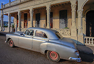 Old American car in Pinar del Rio, Cuba.