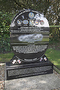 446 th Bomb Group memorial plaque Flixton airfield Bungay Suffolk England