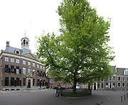 Stitched Panorama Leeuwarden is de hoofdstad van de Nederlandse provincie Friesland / Leeuwarden is the capital of the Dutch province of Friesland<br /> <br /> Op de foto / On the photo:  Stadhuis op het Hofplein / City Hall