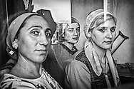 Refugees from Chechnya. Tbilisi. 2005.