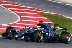 March 7, 2017 - Barcelona, Cataluna, Spain - Motorsports: FIA Formula One World Championship 2017, Test in Barcelona,.Lewis Hamilton (GBR, Mercedes AMG Petronas) (Credit Image: © Hoch Zwei via ZUMA Wire)
