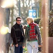 NLD/Amsterdam/20070308 - Barry Hay en zijn partner Sandra Bastiaan, hebben vermoedelijk een woordenwisseling op straat
