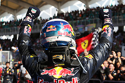 Race winner Daniel Ricciardo (AUS) Red Bull Racing celebrates in parc ferme.<br /> 02.10.2016. Formula 1 World Championship, Rd 16, Malaysian Grand Prix, Sepang, Malaysia, Sunday.<br /> Copyright: Photo4 / XPB Images / action press