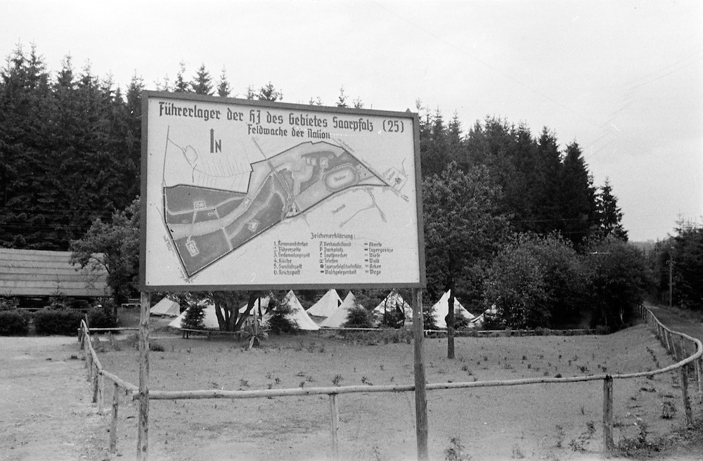 Hitler Youth Camp, Palatinate Forest, 1937
