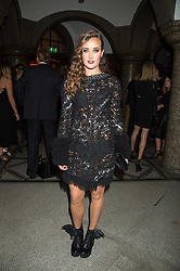 APRIL PEARSON at the Veuve Clicquot Widow Series launch party hosted by Nick Knight and Jo Thornton MD Moet Hennessy UK held at The College, Central St.Martins, 12-42 Southampton Row, London on 29th October 2015.