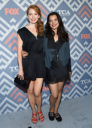 August 8, 2017 West Hollywood, CA Halston Sage FOX TCA After Party held at the SoHo House. 08 Aug 2017 Pictured: Alicia Witt and Zuleikha Robinson. Photo credit: © O'Connor/AFF-USA.com / MEGA TheMegaAgency.com +1 888 505 6342
