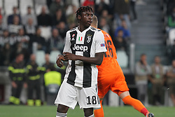 October 2, 2018 - Turin, Piedmont, Italy - Moise Kean (Juventus FC) during the Juventus FC UEFA Champions League match between Juventus FC and Berner Sport Club Young Boys at Allianz Stadium on October 02, 2018 in Turin, Italy..Juventus won 3-0 over Young Boys. (Credit Image: © Massimiliano Ferraro/NurPhoto/ZUMA Press)