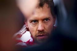 March 8, 2018 - Barcelona, Spain - Motorsports: FIA Formula One World Championship 2018, Test in Barcelona, , #5 Sebastian Vettel (GER, Scuderia Ferrari) (Credit Image: © Hoch Zwei via ZUMA Wire)