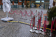 Four days before Christmas, retailers remain closed after the governments last-minute u-turn on the easing of Coronavirus pandemic rules. Instead, London and the South-East has been put under a Tier 4 restriction, forcing the closure of non-essential shops and small businesses, on 21st December 2020, in London, England.