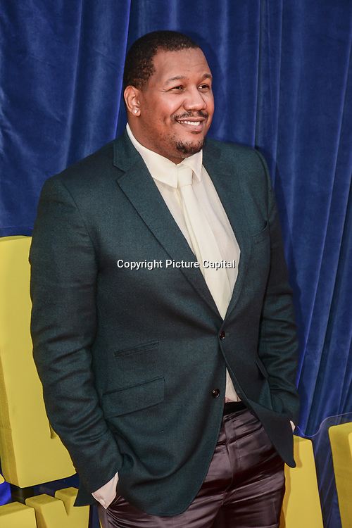 """Travon Free attended """"The Harder They Fall"""" Opening Night Gala - 65th BFI London Film Festival, Southbank Centre, London, UK. 6 October 2021."""