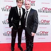 NLD/Amsterdam//20140401 - Filmpremiere The Other Woman, Nick Nielsen en Dean Saunders
