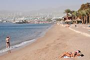 Israel, Eilat Beach