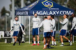 March 30, 2018 - Los Angeles, CA, USA - 180330 Zlatan Ibrahimovic anlÅnder till sin fÅ¡rsta trÅning med MLS-laget LA Galaxy den 30 mars 2018 i Los Angeles  (Credit Image: © Joel Marklund/Bildbyran via ZUMA Press)