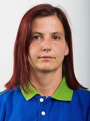 Romana Kuhar of Slovenian Paralympic team for London 2012 on June 20, 2012 in Ljubljana, Slovenia. (Photo by Vid Ponikvar / Sportida.com)