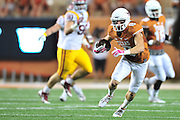 AUSTIN, TX - OCTOBER 18:  Jaxon Shipley #8 of the Texas Longhorns breaks free against the Iowa State Cyclones on October 18, 2014 at Darrell K Royal-Texas Memorial Stadium in Austin, Texas.  (Photo by Cooper Neill/Getty Images) *** Local Caption *** Jaxon Shipley