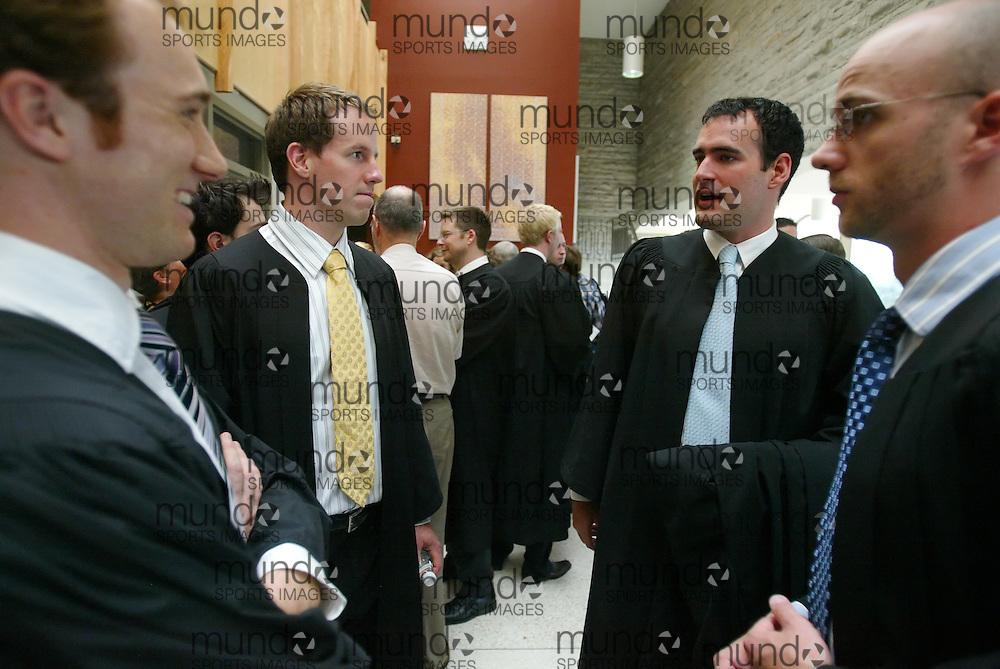 London, Ontario ---13/06/08--- University of Western Ontario Law School class of 2008.GEOFF ROBINS UWO