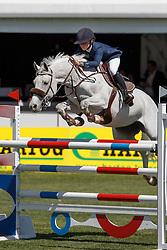 Thijssen Sanne, (NED), Warette<br /> Nederlands kampioenschap springen - Mierlo 2016<br /> © Hippo Foto - Dirk Caremans<br /> 21/04/16