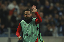 December 6, 2017 - Na - Porto, 06/12/2017 - Football Club of Porto received, this evening, AS Monaco FC in the match of the 6th Match of Group G, Champions League 2017/18, in Estádio do Dragão. João Moutinho thanks Porto supporters  (Credit Image: © Atlantico Press via ZUMA Wire)