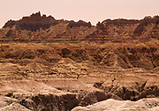 Badlands National Park, South Dakota. Managed by the National Park Service and the Oglala Lakota tribe