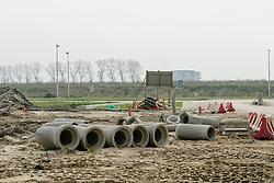 Aanleg Vleuterweide 2007, Leidsche Rijn, Utrecht, Netherlands Bouwplaats, nieuwbouw, building site, construction site