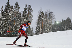 March 9, 2019 - –Stersund, Sweden - 190309 Karol Dombrovski of Lithuania competes in the Men's 10 KM sprint during the IBU World Championships Biathlon on March 9, 2019 in Östersund..Photo: Petter Arvidson / BILDBYRÃ…N / kod PA / 92252 (Credit Image: © Petter Arvidson/Bildbyran via ZUMA Press)