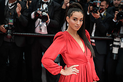 Camélia Jordana attending the premiere of the film Blackkklansman during the 71st Cannes Film Festival in Cannes, France on May 14, 2018. Photo by Julien Zannoni/APS-Medias/ABACAPRESS.COM