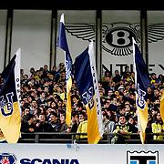 Fenerbahce's Supporters fans during their Turkish superleague soccer match Fenerbahce between Genclerbirligi at the Sukru Saracaoglu stadium in Istanbul Turkey on Saturday 03 March 2012. Photo by TURKPIX