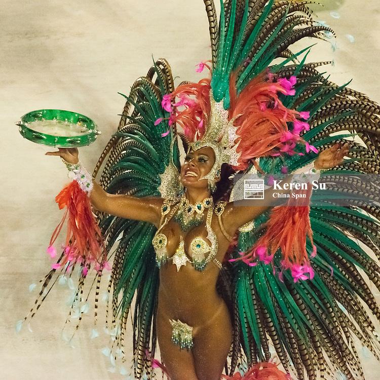 Samba Parade at Sambadrome during Carnival, Rio de Janeiro, Brazil