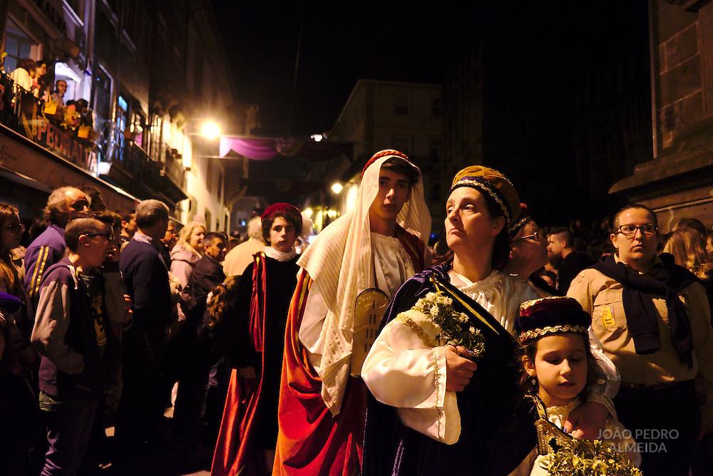 Ecce Homo Procession returning to Misericordia church.