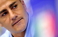 La conferenza stampa di Fabio Cannavaro<br /> Campionati del Mondo di Calcio Sudafrica 2010 - World Cup South Africa 2010<br /> Irene, Johannesburg, 25 / 06 / 2010<br /> © Giorgio Perottino / Insidefoto