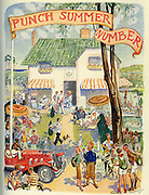 Cover of Punch Magazine - Summer Number -1935 , by EH Shepard ...