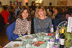 Jasmine Hemsley and Jacquetta Wheeler at the ASAP VIP lunch (African Solutions To African Problems) held at the RHS Lindley Hall, 80 Vincent Square, London, England. 10 October 2018.