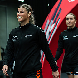 Angela Malestein of Netherlands during the Women's EHF Euro 2020 match between Netherlands and Hungry at Sydbank Arena on december 08, 2020 in Kolding, Denmark (Photo by RHF Agency/Ronald Hoogendoorn)