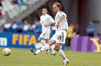 FOTBALL - CONFEDERATIONS CUP 2003 - GROUP A - 030618 - NEW ZEALAND v JAPAN - SIMON ELLIOTT (ZEA) - PHOTO STEPHANE MANTEY / DIGTIALSPORT