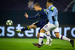 Dani Olmo of Dinamo Zagreb  during football match between GNK Dinamo Zagreb and Manchester City in 6th Round of UEFA Champions league 2019/20, on December 11, 2019 in Maksimir, Zagreb, Croatia. Photo by Blaž Weindorfer / Sportida